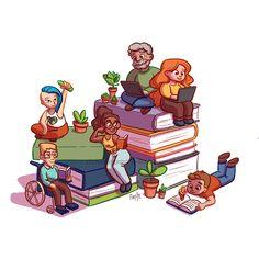 Portfolio, Illustration, Fictional Characters, Illustrations, Fantasy Characters