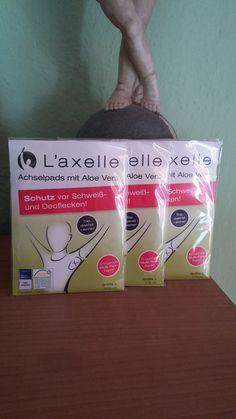 Ich durfte von der Firma L'axelle Antitranspirant und die Achelspads testen ,ich bin begeistert Es lohnt sich auf Ihre Seite vorbei zuschauen  http://www.laxelle.de/ Den Bericht gibt es wieder auf meinem Blog