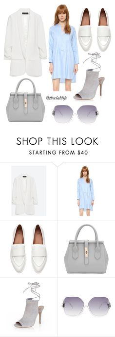 Something for Spring by theelablife on Polyvore featuring Amanda Uprichard, Zara, New Look and Diane Von Furstenberg