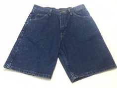 Wrangler Relaxed Fit 32 Men's Blue Jeans Cotton 606W1DH NEW NWT #Wrangler #Denim