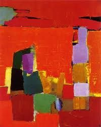 Nicolas De Stael  LHJ: one of my favorite abstract artists