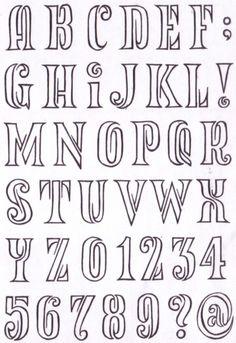 Fancy Fonts Alphabet, Alphabet Symbols, Alphabet Writing, Fancy Letters, Hand Lettering Alphabet, Alphabet Design, Graffiti Lettering Fonts, Creative Lettering, Letras Cool