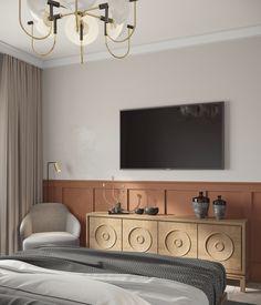 Light Bedroom, Bedroom Bed, Bedroom Lighting, Bedrooms, Tv Wall Design, Bed Design, Adobe Photoshop, Tv Unit Bedroom, Tv Wall Decor