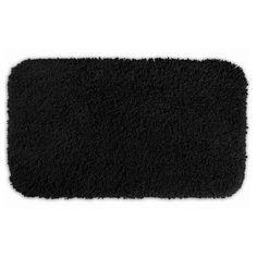 Serendipity Bath Rug Black - SER-2440-17, Durable