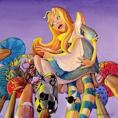 ALICE IN WONDERLAND BY INGA SHALVASHVILI