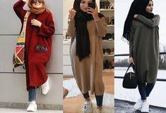 Nouvelle collection de Robe d'hiver pour femme musulmane