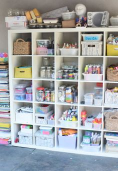 The Craft Supplies Closet Of My Dreams Declutter And Organize