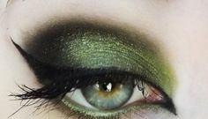 smoky witch eye #makeup #makeuptips #eyes