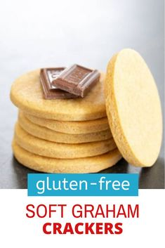 This easy recipe for soft gluten free graham crackers has the lightly sweet, wheaty taste of the traditional cracker, but the soft texture of sugar cookies. Thm Recipes, Easy Cake Recipes, Recipies, Dessert Recipes, Desserts, Best Gluten Free Cookie Recipe, Gluten Free Graham Crackers, Chocolate Cake Recipe Easy, Paleo