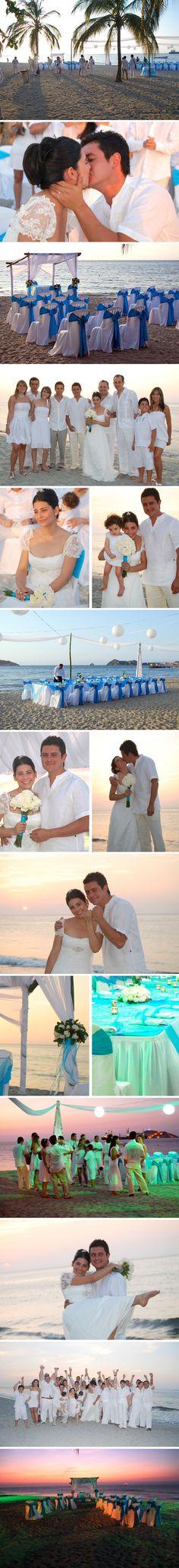 Tatiana y Daniel: Atardecer junto al Mar