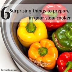 6 surprising things to prepare in your slow cooker: meatloaf, ghee, oats, baked sweet potatoes, artichokes, yogurt