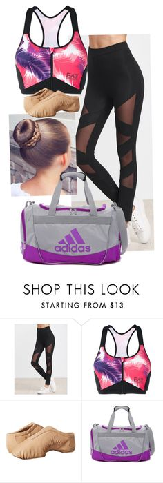 """Jazz"" by jennisonklichfield ❤ liked on Polyvore featuring EA7 Emporio Armani, Bloch and adidas"