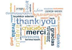 ありがとう multilanguage wordcloud コンセプトの背景 ロイヤリティフリーストックのイラスト