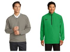 Nike Golf Windshirt for Fall from NYFifth #nikegolf #windshirt