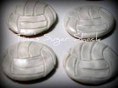 Volleyball cookies