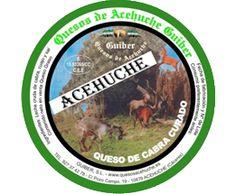 Guiber    Queso de Cabra Curado 650 g. *   Queso de cabra curado elaborado a partir de leche cruda de cabra