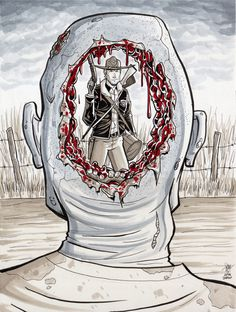 The Walking Dead - Geoff Darrow Homage by calslayton on DeviantArt
