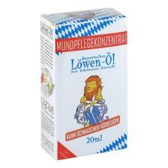 Bayerisches Löwen-Öl Schnarchöl