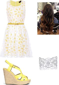 """""""Easter outfit"""" by livelovelaughpeaceout ❤ liked on Polyvore [more at pinterest.com/eventsbygab]"""