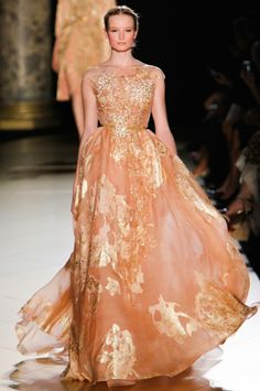 I'm still utterly enchanted by Elie Saab's Autumn-Winter 2012 Couture collection. I...
