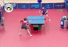 The Only Way To Win Table Tennis