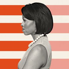 She may be the most powerful black woman in the country, a position that begs to be used. Now that she can speak her mind, will she? This Op-Ed explores. (Illustration: Cristiana Couceiro; Photograph: Nigel Dickson/Getty Images)