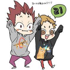 Haikyuu Funny, Haikyuu 3, Haikyuu Ships, Kageyama, Oikawa, I Love Anime, Me Me Me Anime, Anime Guys, Manga Anime
