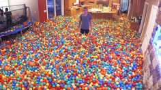 Crazy Plastic Ball PRANK!! OH MY FREAKING GOSH THIS IS THE MOST BEAUTIFUL AMAZING AWESOME EPIC THING I'VE EVER SEEN!!!