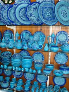 I am really kicking myself for not buying more Turkish pottery. I only bought a few little bowls to give as gifts...