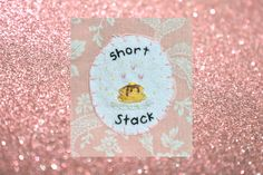 Short Stack Patch, Pancakes Patch, Cute Patch by witchvisions on Etsy https://www.etsy.com/listing/262107104/short-stack-patch-pancakes-patch-cute