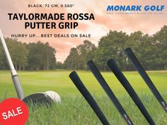 Taylor Made putter grips are the 1st choice for amateurs and professionals around the world. Not only can you be sure you are getting a top quality grip but they also look great too!! TaylorMade Rossa Putter Grip only for you on sale!! What are you waiting for? Grab the one for you !!  #MonarkGolf #Golf #GolfClubs #GolfProducts #GolfComponents #Golfing #Golfers #ShopNow #onlineShopping #BuyNow #shopping #sale #Deals #Sports Can You Be, Are You The One, Golf Club Grips, Golfers, Taylormade, Golf Clubs, Waiting, Sports, Top