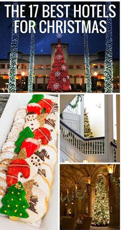The best luxury hotels to spend the Christmas holidays. A list of the best family programs at city, beach, Disney World, mountain, and desert resorts and hotels.