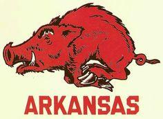 Vintage Arkansas Razorbacks