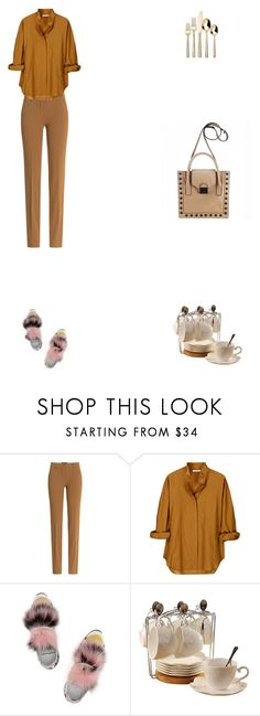 """""""Grace"""" by zoechengrace ❤ liked on Polyvore featuring Etro, Vanessa Bruno, Pierre Hardy and Threshold"""