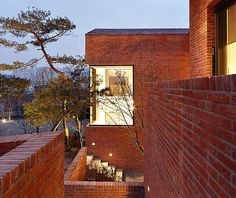 Fortress Brick Residence By Sensible Architecture (KR) - http://www.interiordesign724.com/home-design/fortress-brick-residence-by-sensible-architecture-kr.html