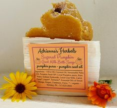 Sugared Pumpkin Goat Milk Body Soap
