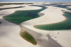 Immaginate di fondere le dune del Sahara e gli specchi d'acqua della Scandinavia: il risultato è ...