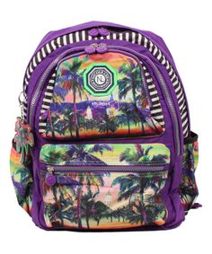 Look what I found on #zulily! Purple Hollywood Laptop Backpack by Nicole Lee #zulilyfinds