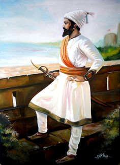 Painting by kartik khadatkar .K wardha ( maharashtra ) Shivaji Maharaj Painting, Shivaji Maharaj Hd Wallpaper, Mahadev Hd Wallpaper, Shiva Photos, Hd Wallpapers 1080p, Art Optical, History Of India, Mystery Of History, Indian Paintings
