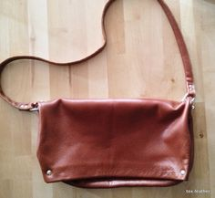 Leather Soft Bag /Handmade bag by toxleather