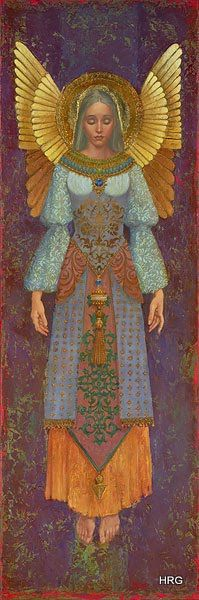 Saint Cecilia by James Christensen