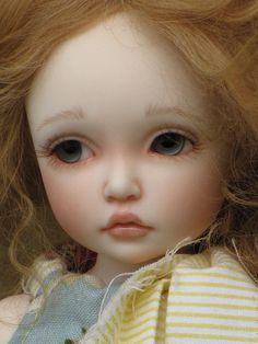 This is the Iplehouse BID Elin, owned by ElfinHugs.  She's been beautifully customized. #bjd