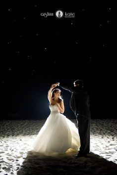 Night pictures  |  Backlighting  |  Stars  |  Night weddings  |  Ballroom weddings  |  Elegant weddings  |  Pensacola Destin Photography  |   Aislinn Kate Photography