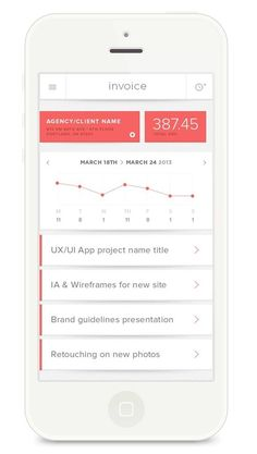 category clear, type and color good match Daily Mobile UI Design Inspiration #40