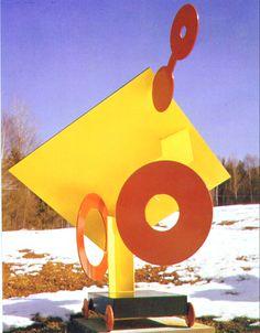 David Smith 'Zig VII' 1963 by onderdonxx Steel Sculpture, Sculpture Art, David Smith, Geometric Sculpture, Art Students League, Outdoor Sculpture, Welding Art, Art Boards, Jewelry Art