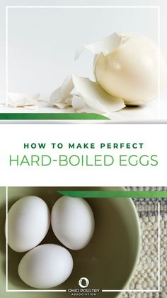 This method introduced by the American Egg Board will give you easy-to-peel hard-boiled eggs every time. Just follow these three easy steps!