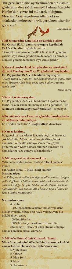 miraç kandili duası türkçe 6