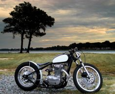 Triumph XS 650 Bobber Cool looking custom. Italian Sniper Cafe Racer by Maria Motorcycles bobber 'Bonneville' - Vintage Addiction Crew Xs650 Bobber, Bobber Bikes, Bobber Motorcycle, Bobber Chopper, Cruiser Motorcycle, Motorcycle Design, Scrambler, Vintage Bikes, Vintage Motorcycles