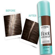 Our New Root Cover Up conceals grays in seconds for flawless roots. Get seamless coverage with a lightweight, no smudging or sticky residue when dry, that's ammonia and peroxide free. Perfect for in between  color or salon visits.<br><br>• 3 seconds to flawless roots <br>• No more grays, no more compromises<br>• Temporary gray concealer spray<br><br>DIRECTIONS: SHAKE WELL. HOLD CAN 4-6 INCHES FROM HAIR. SPRAY COLOR ONTO NEW GROWTH AND PARTLY THROUGH THE LENGTH OF THE HAI...