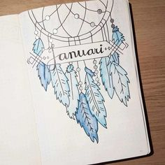 dream catcher bullet journal inspiration ideas/journaling/bullet journals/ Thinking about creating something more BoHo for your bullet journal? These Dream Catcher Bullet Journal ideas will take it to the next level!